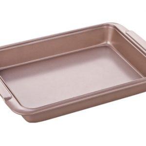 Hluboké plechy - Plech na pečení hluboký DELÍCIA GOLD 39x26 cm
