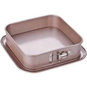Rozkládací formy na pečení - Forma na dort rozkládací čtvercová DELÍCIA GOLD 24x24cm