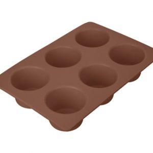 Silikonové formy na pečení - Forma 6 muffinů DELÍCIA SILICONE