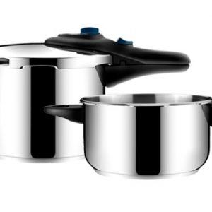 Sady tlakových hrnců - Tlakový hrnec PRESTO DUO 4.0 a 6.0 l