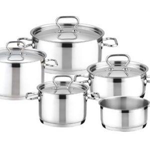 Nerezové sady nádobí - Sada nádobí HOME PROFI