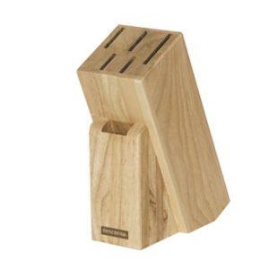 Dřevěné bloky na nože - Blok WOODY pro 5 nožů